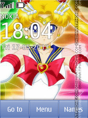 Sailor Moon tema screenshot