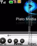Music Player es el tema de pantalla