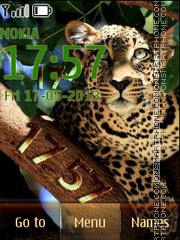 Leopard theme screenshot