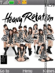 Jkt48 - Heavy Rotation theme screenshot