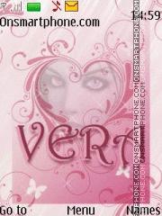Names Vera theme screenshot