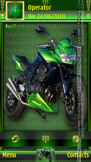 MotorcycletaheRcor theme screenshot