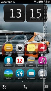 Porsche 911 09 theme screenshot