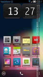 Скриншот темы Android Jelly Bean 01