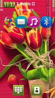 Tulips 12 theme screenshot