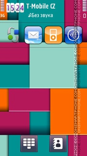 Abstract Squares theme screenshot