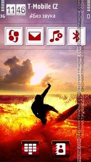3D Surfing es el tema de pantalla