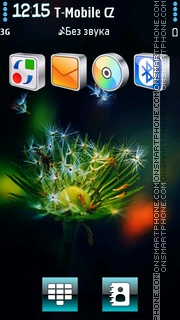 Dandelion Vark theme screenshot