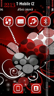 Sweet Hearts 02 theme screenshot
