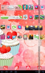 Cupcake 02 theme screenshot