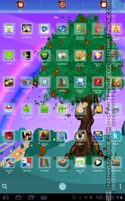 Spring Tree 01 theme screenshot