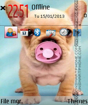 Dogy tema screenshot