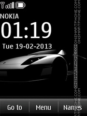 Lamborghini 19 theme screenshot