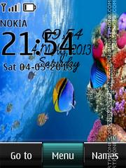 Under Water Digital es el tema de pantalla