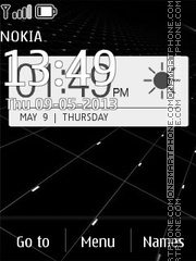 HTC One 01 theme screenshot
