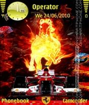 Ferrari F138 theme screenshot