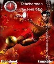 Lionel Messi es el tema de pantalla