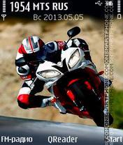 Biker es el tema de pantalla