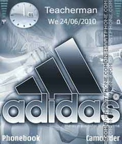 Logo-Adidas theme screenshot