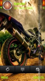 Скриншот темы Motorbike