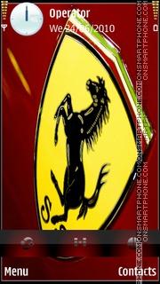 Ferrari Theme theme screenshot
