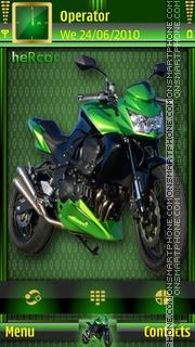 MotorcycletaheRcor theme screenshot
