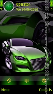 Audi Green theme screenshot