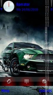 Dark Mustang theme screenshot