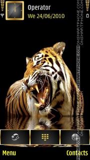 Tiger - Theme theme screenshot