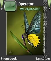 Fluture es el tema de pantalla