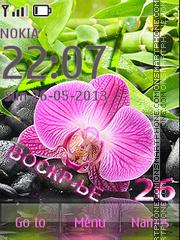 Orchid theme screenshot