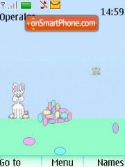 Bunny Animated theme screenshot