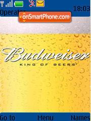 Budweiser 01 theme screenshot