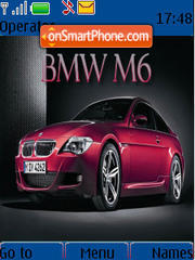 Bmw M6 02 theme screenshot