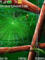 Spiders web theme screenshot