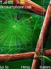Spiders web theme screenshot
