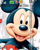 The world of Mickey Mouse tema screenshot