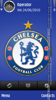 Chelsea tema screenshot