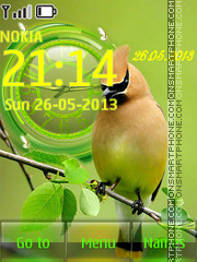 Birdie theme screenshot