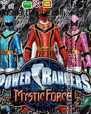 Power Rangers Mystic Force Team es el tema de pantalla