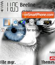 Eyes 02 theme screenshot