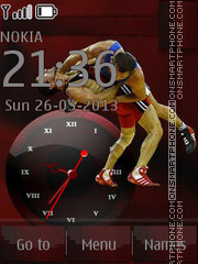 Wrestlers By ROMB39 theme screenshot
