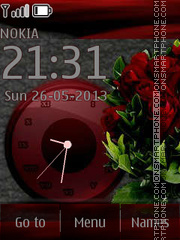 Scarlet Roses By ROMB39 tema screenshot