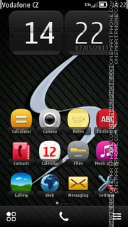 Samsung Galaxy S4 theme screenshot
