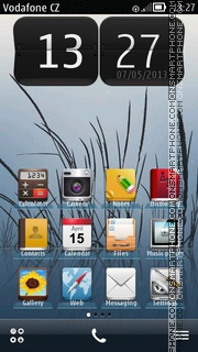 Apple - iPhone Style Belle es el tema de pantalla