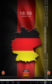 Скриншот темы Germany Flag 01