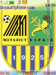 Metalist Kharkov theme screenshot