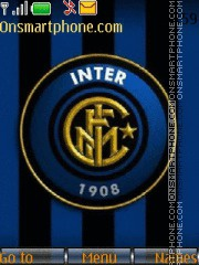 FC Inter theme screenshot