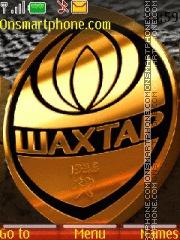 FC Shakhtar theme screenshot