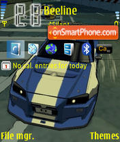 Auto Modellista theme screenshot